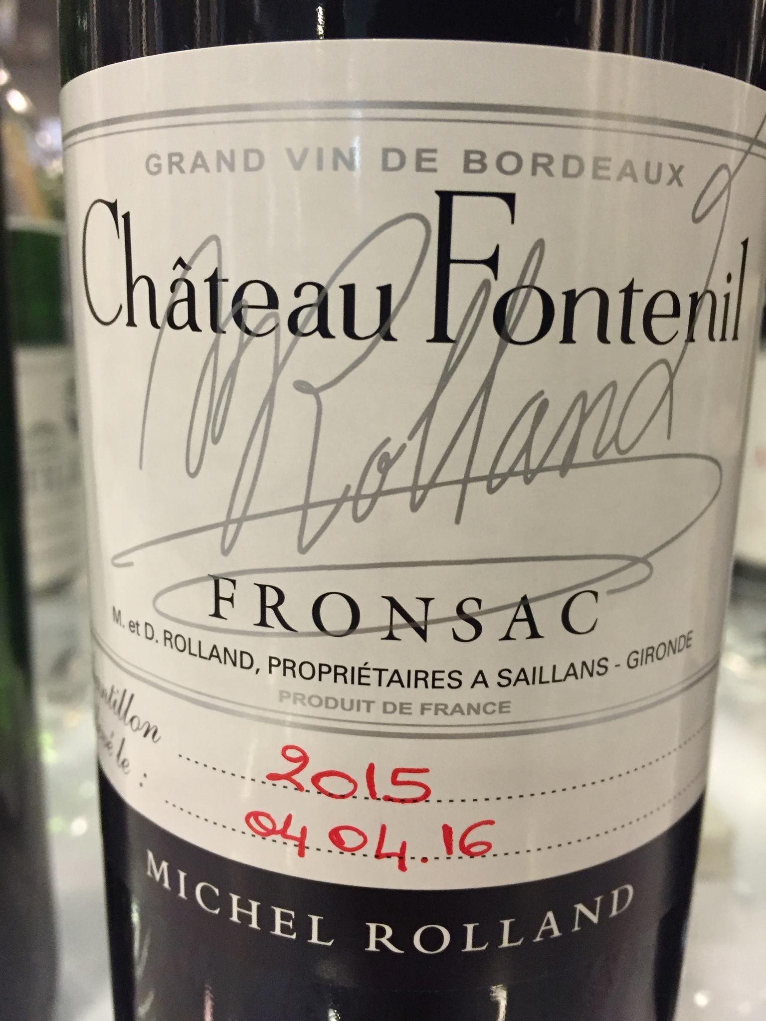 Château Fontenil 2015 – Fronsac