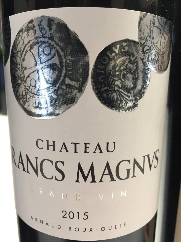 Château Francs Magnus 2015 – Grand Vin – Bordeaux