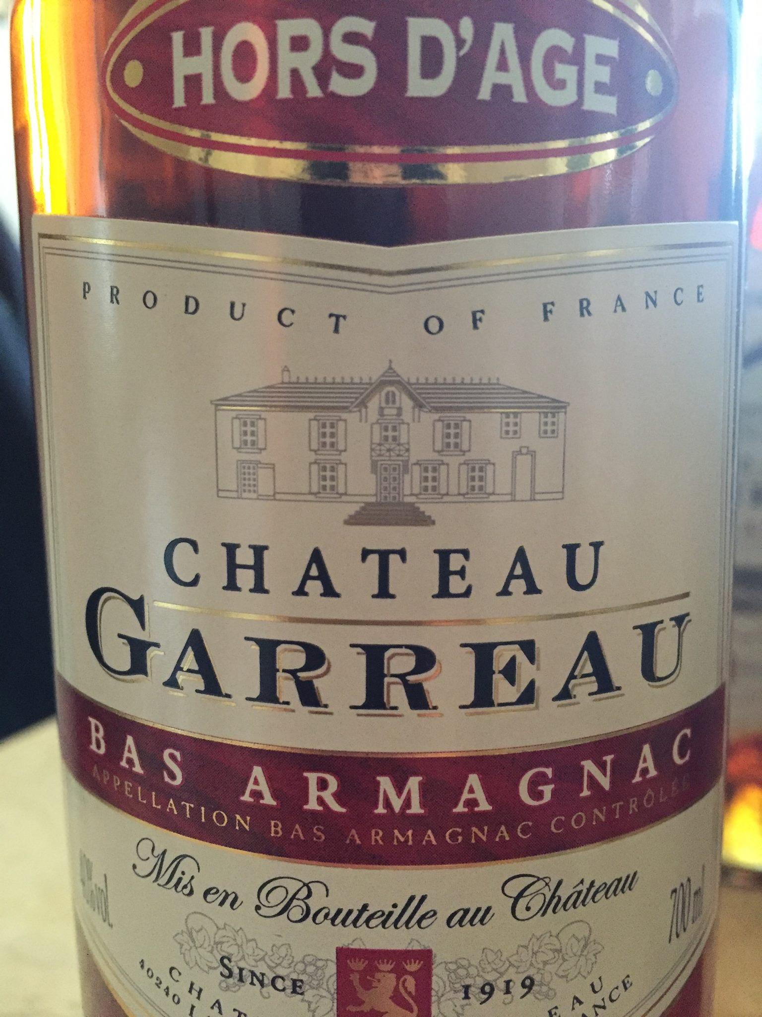 Château Garreau – HORS D'AGE – Bas-Armagnac