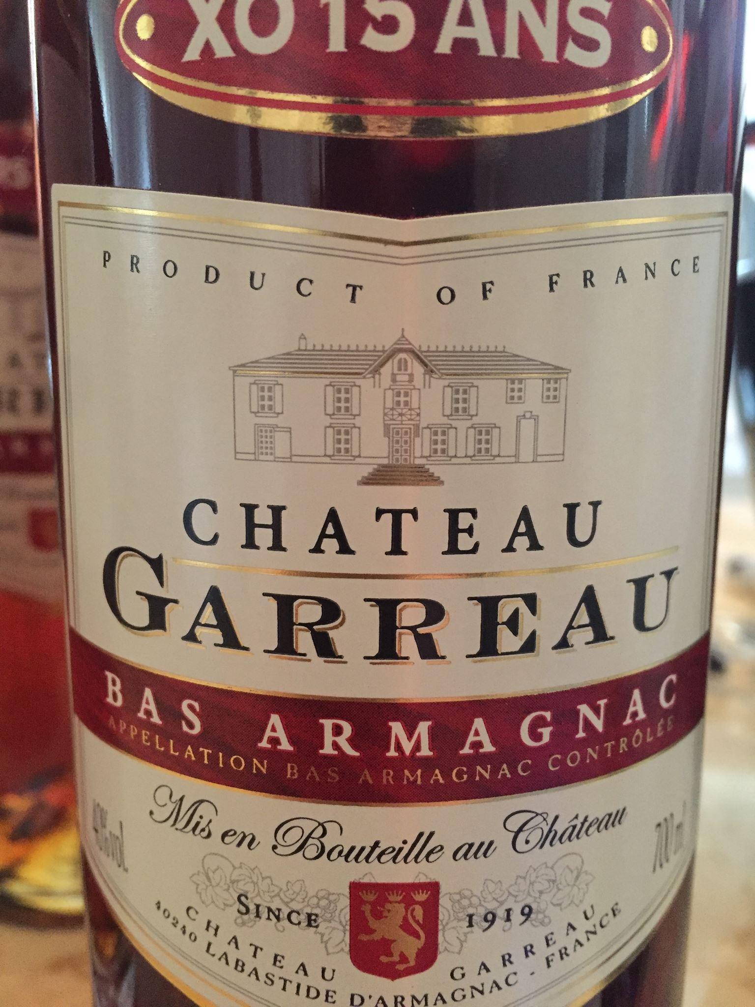 Château Garreau – XO 15 ans – Bas-Armagnac