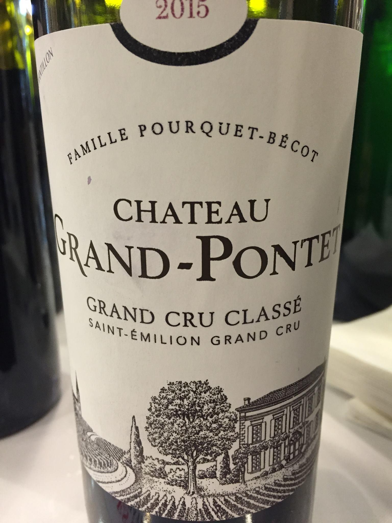 Château Grand-Pontet 2015 – Saint-Emilion Grand Cru, Grand Cru Classé