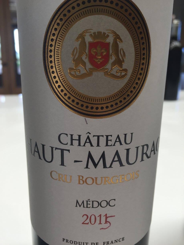 Château Haut-Maurac 2015 – Médoc