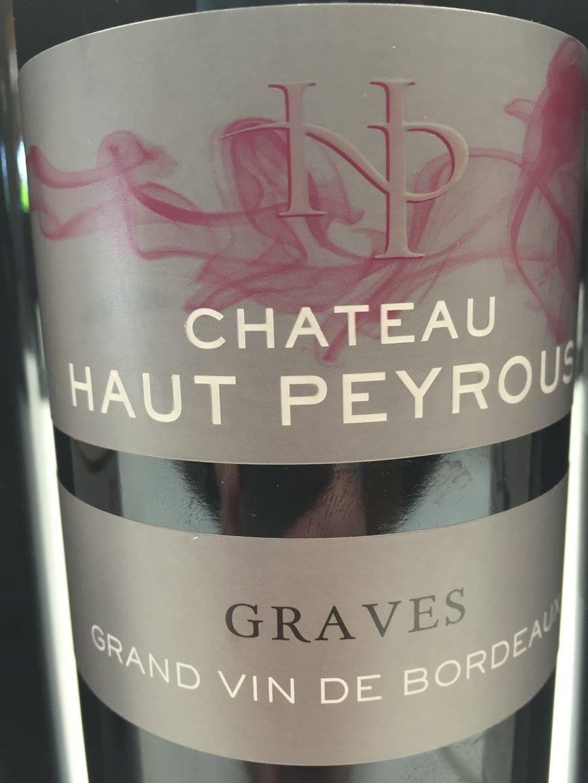 Château Haut-Peyrous 2015 – Graves