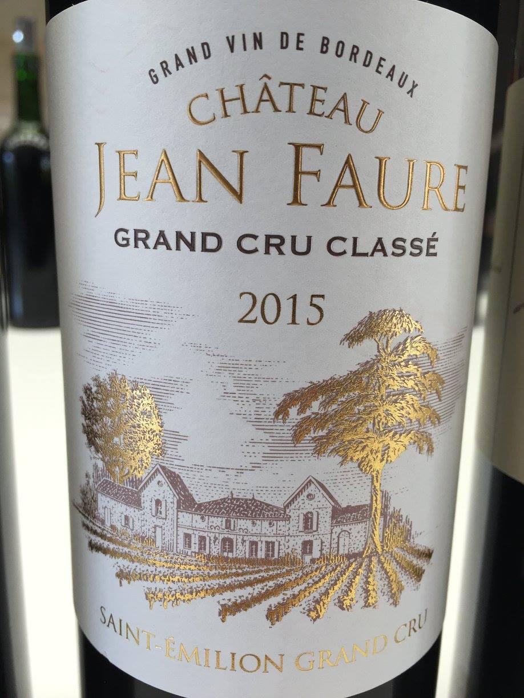 Château Jean Faure 2015 – Saint-Emilion Grand Cru Classé