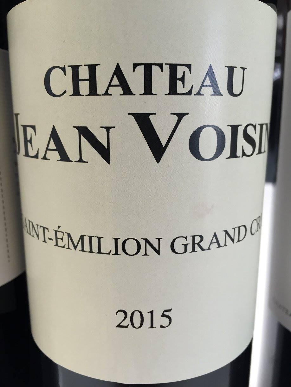 Château Jean Voisin 2015 – Saint-Emilion Grand Cru
