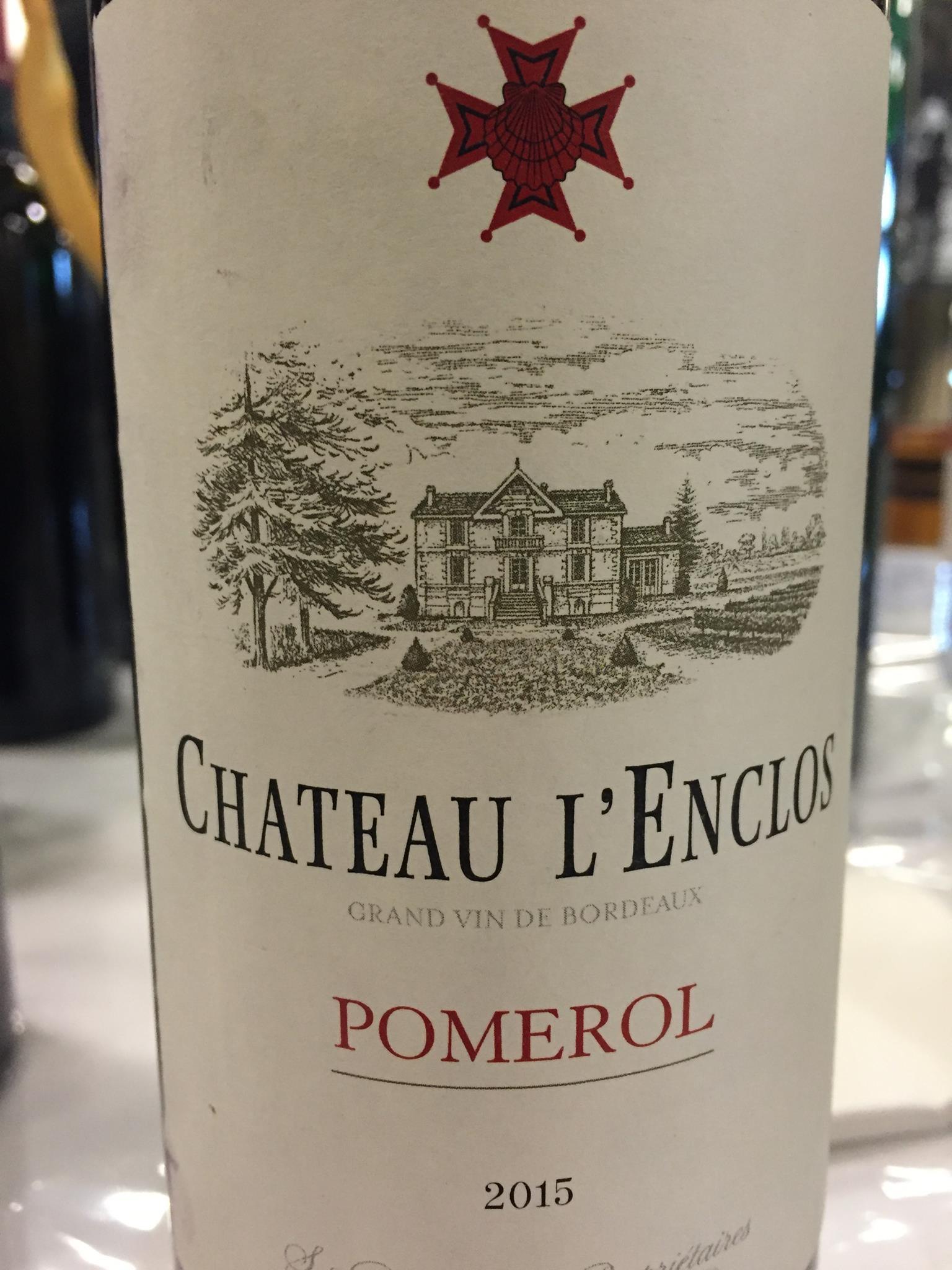 Château L'enclos 2015 – Pomerol