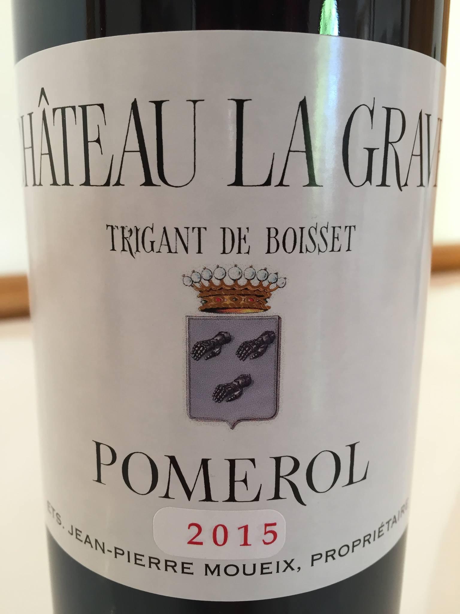 Château La Grave 2015 – Trigant de Boisset – Pomerol