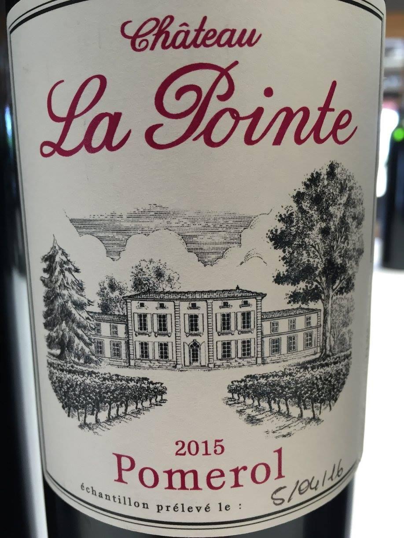 Château La Pointe 2015 – Pomerol