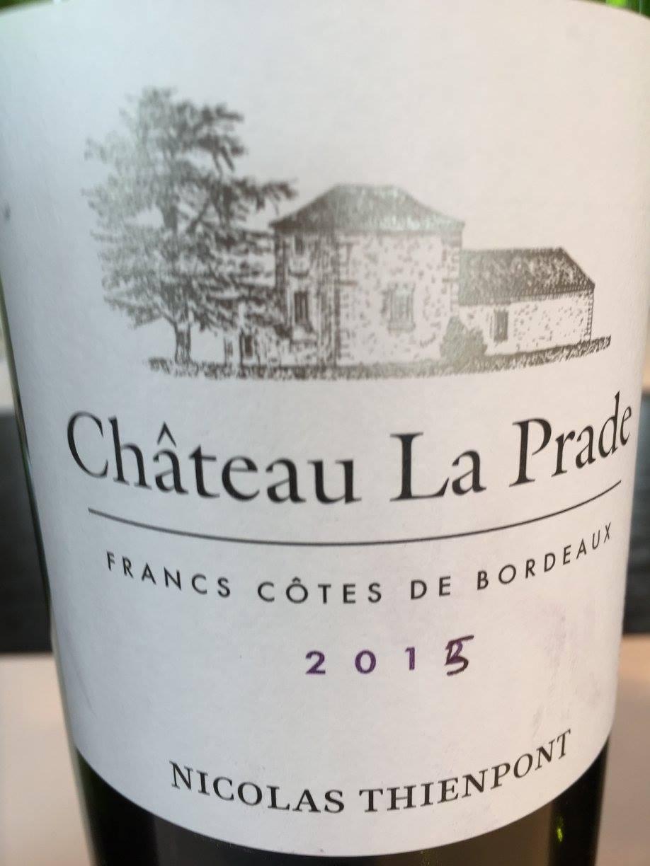 Château La Prade 2015 – Francs – Côtes de Bordeaux