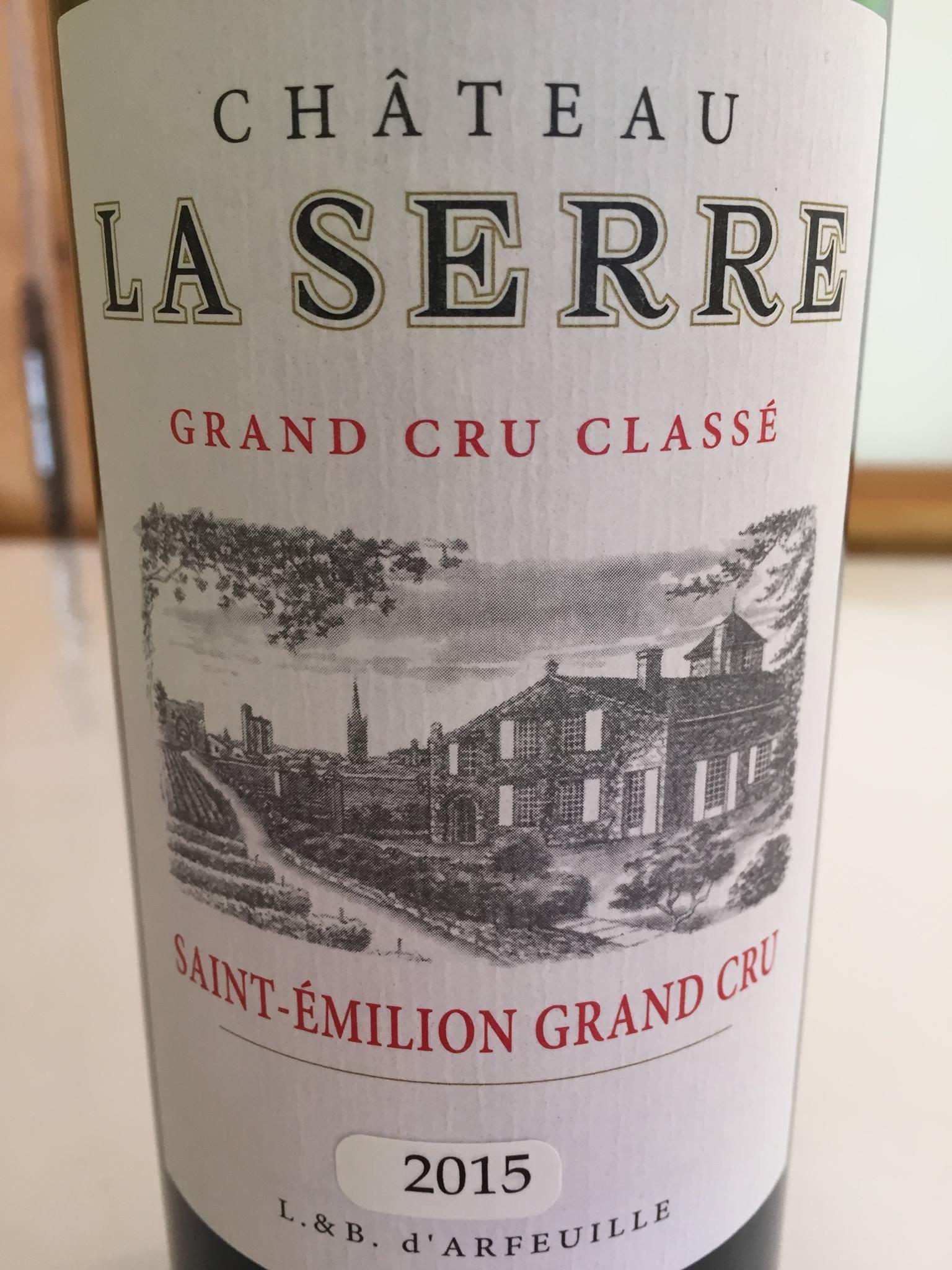 Château La Serre 2015 – Saint-Emilion Grand Cru Classé