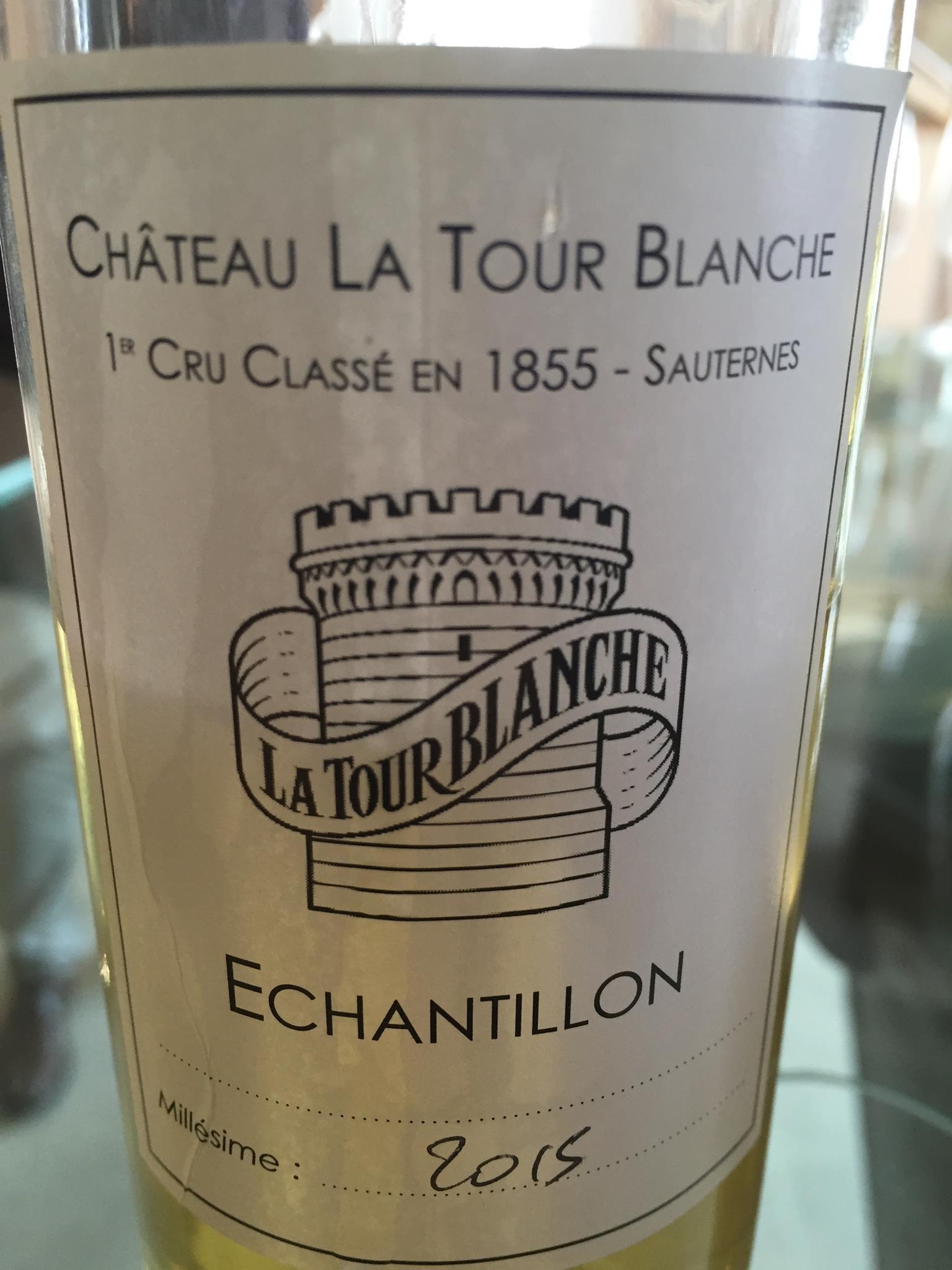 Château La Tour Blanche 2015 – Sauternes, 1er Grand Cru Classé