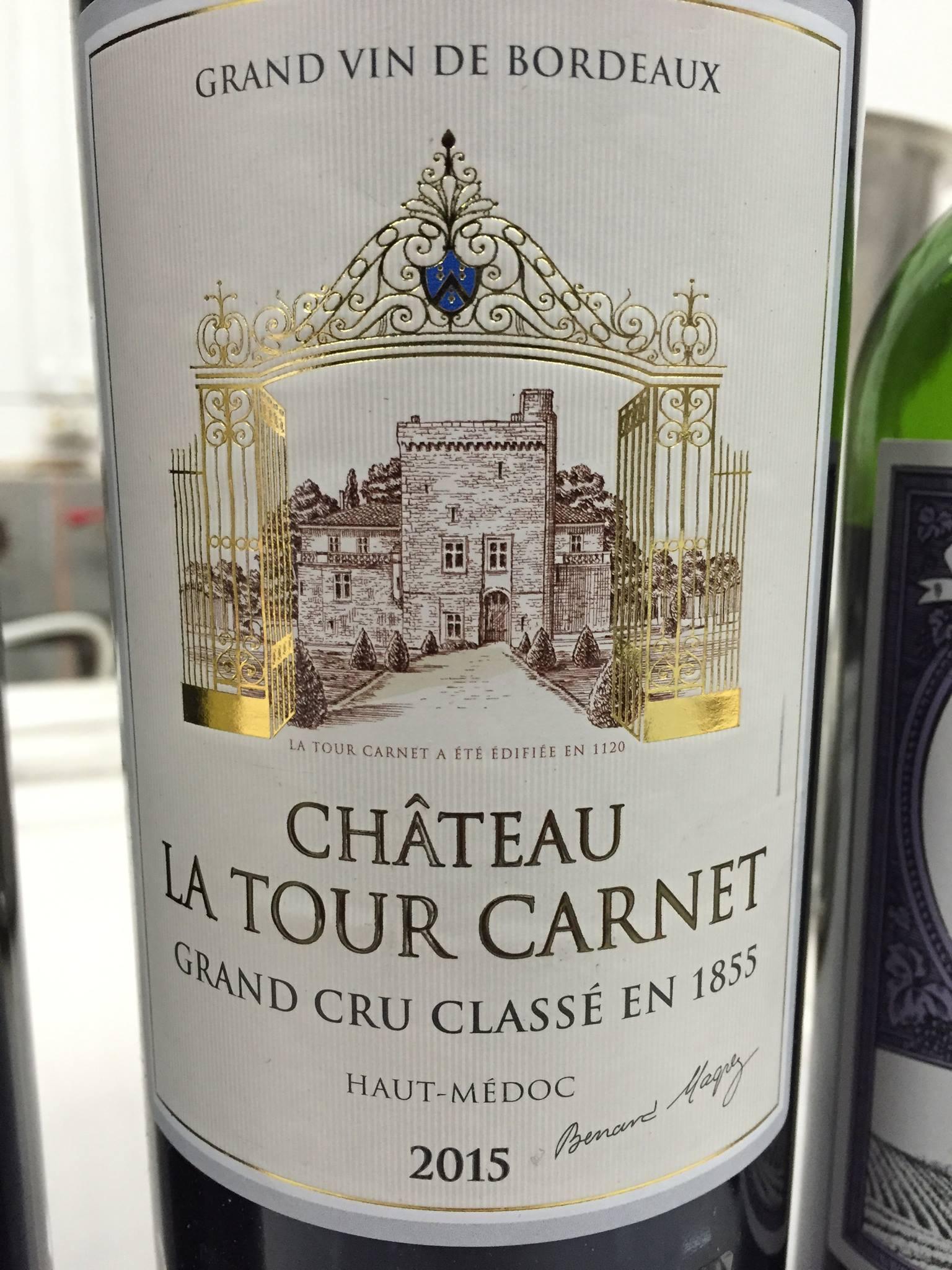 Château La Tour Carnet 2015 – Haut-Médoc, 4ème Grand Cru Classé