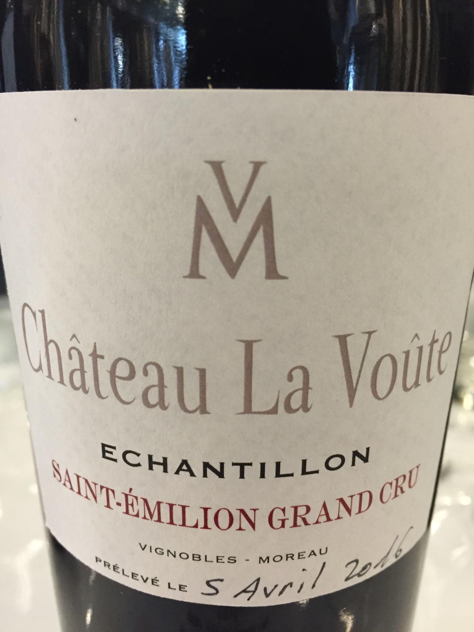 Château La Voûte 2015 – Saint-Emilion Grand Cru
