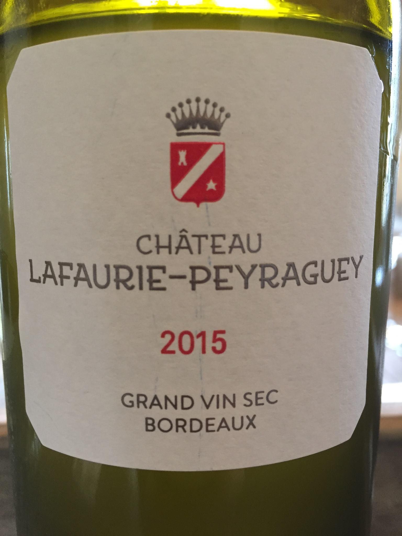 Château Lafaurie-Peyraguey 2015 – Bordeaux