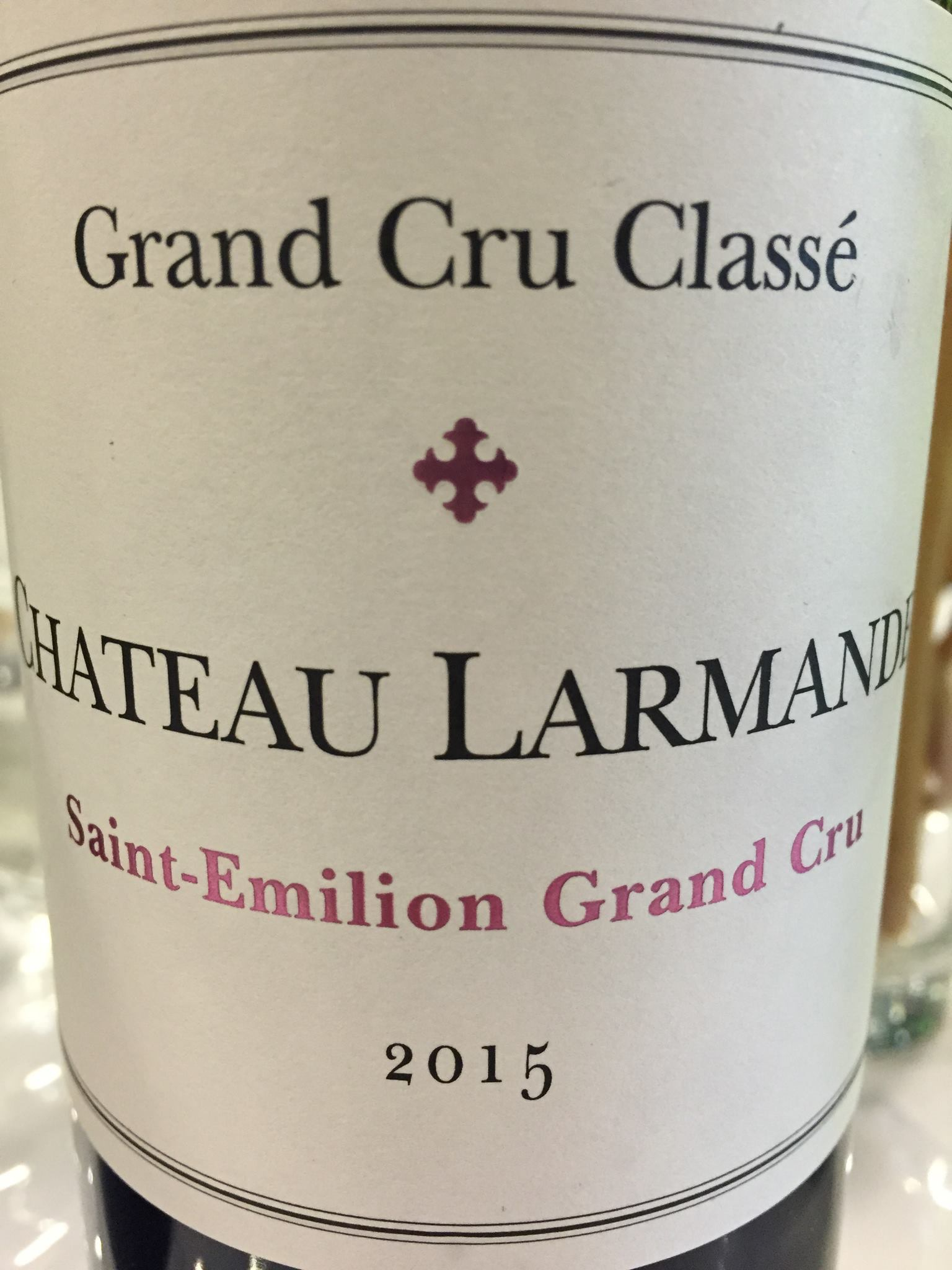 Château Larmande 2015 – Saint-Emilion Grand Cru, Grand Cru Classé