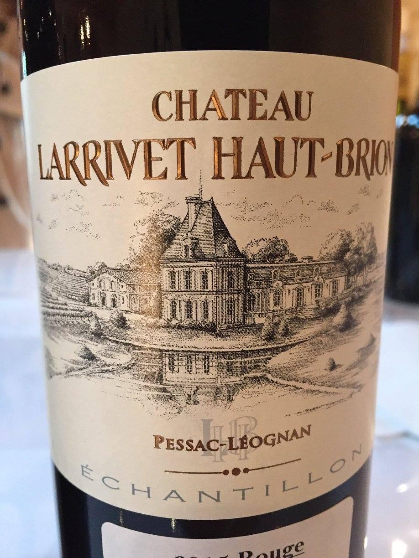 Château Larrivet Haut-Brion 2015 – Pessac-Léognan