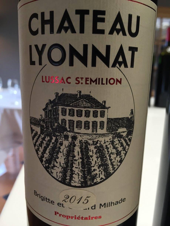 Château Lyonnat 2015 – Lussac Saint-Emilion