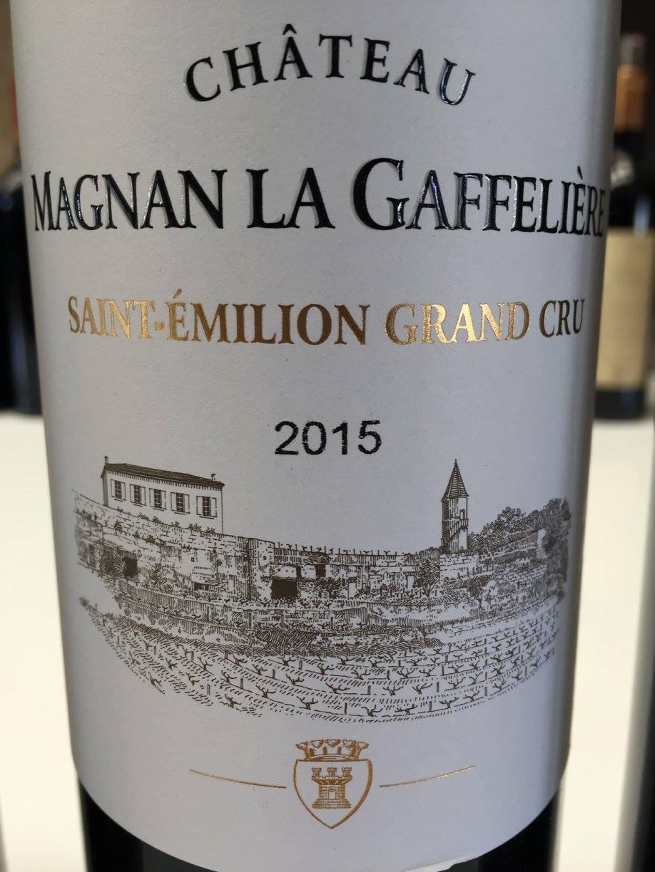 Château Magnan La Gaffelière 2015 – Saint-Emilion Grand Cru
