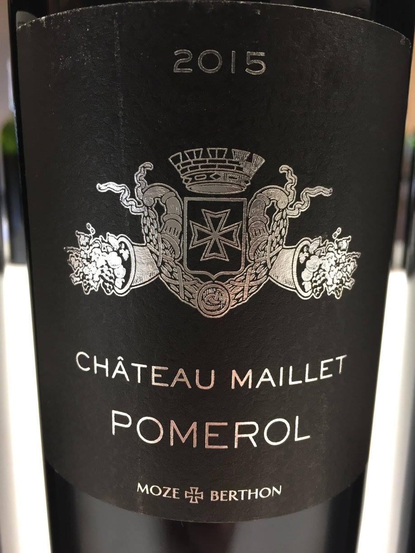 Château Maillet 2015 – Pomerol