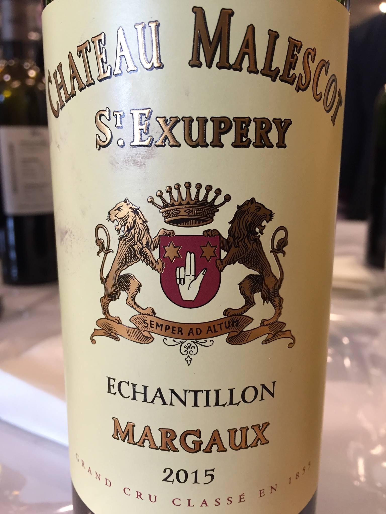 Château Malescot St Exupéry 2015 – Margaux, Grand Cru Classé