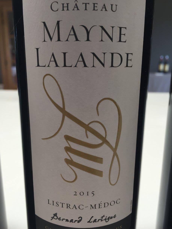 Château Mayne Lalande 2015 – Listrac-Médoc