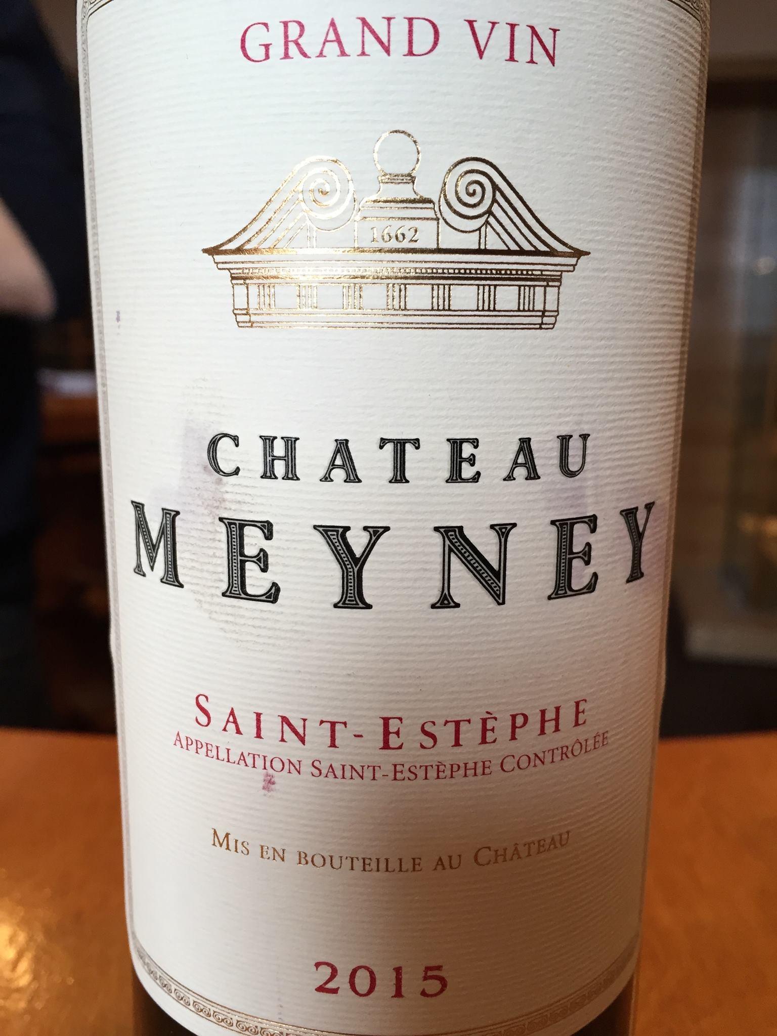 Château Meyney 2015 – Saint-Estèphe