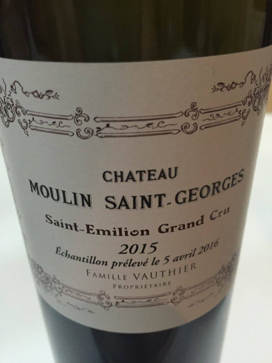 Château Moulin Saint-Georges 2015 – Saint-Emilion Grand Cru