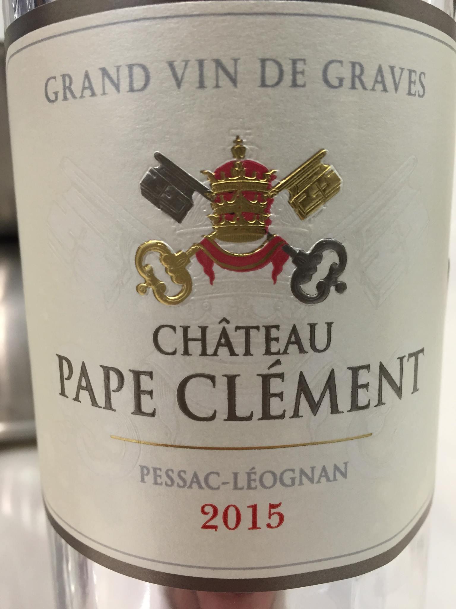 Château Pape Clément 2015 – Pessac-Léognan