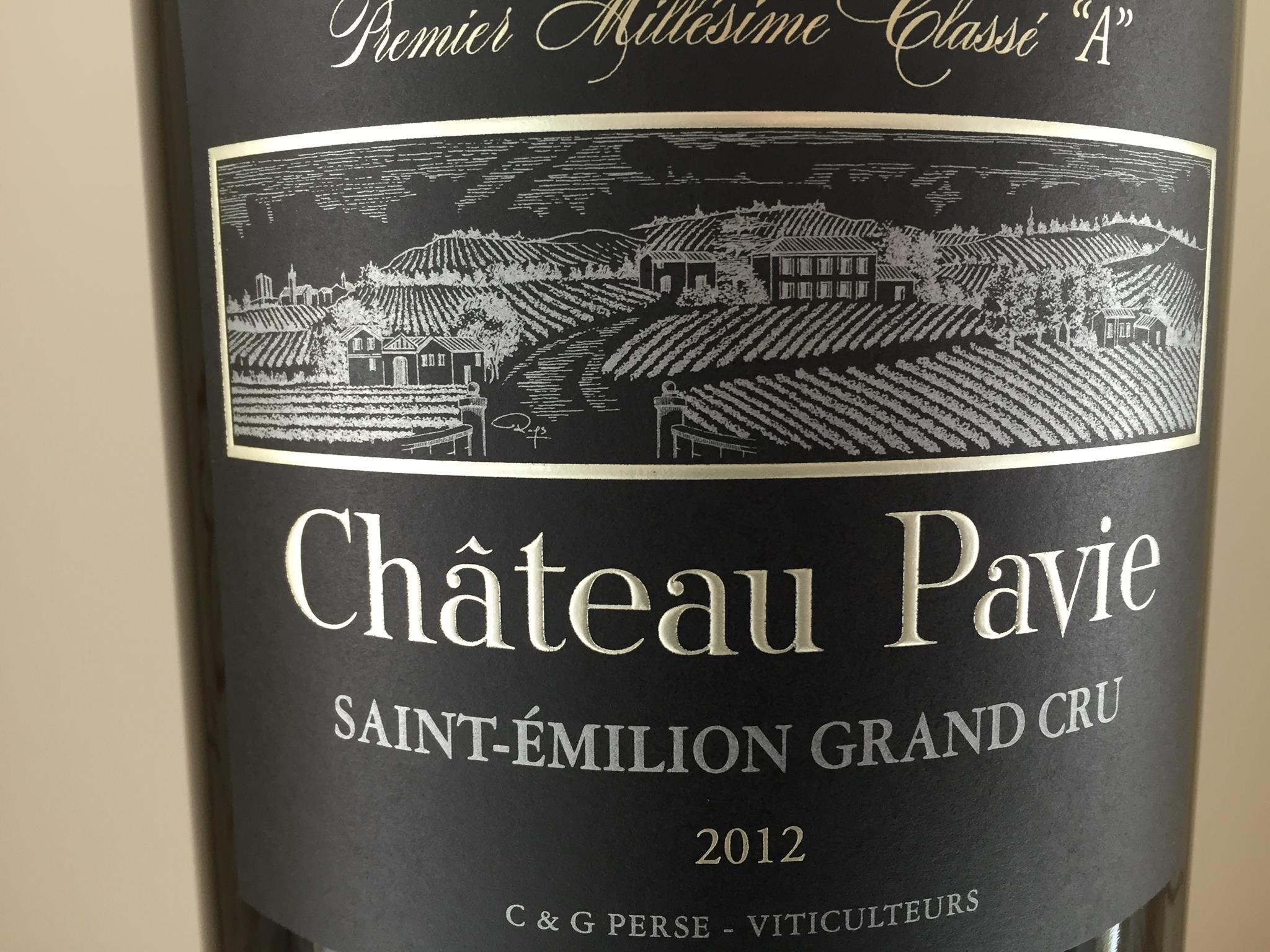 Château Pavie 2015 – Saint-Emilion Grand Cru, 1er Grand Cru Classé A