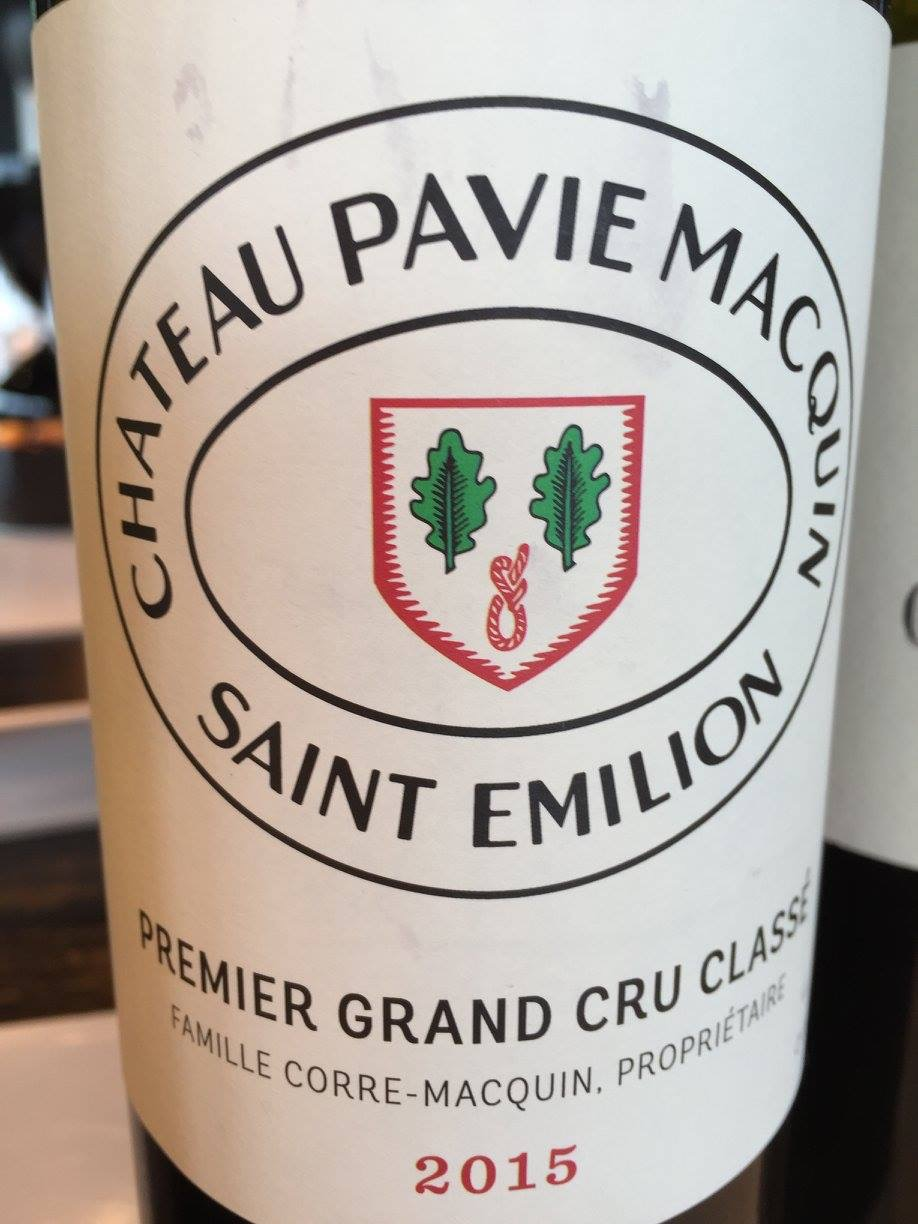 Château Pavie-Macquin 2015 – Saint-Emilion Grand Cru, 1er Grand Cru Classé