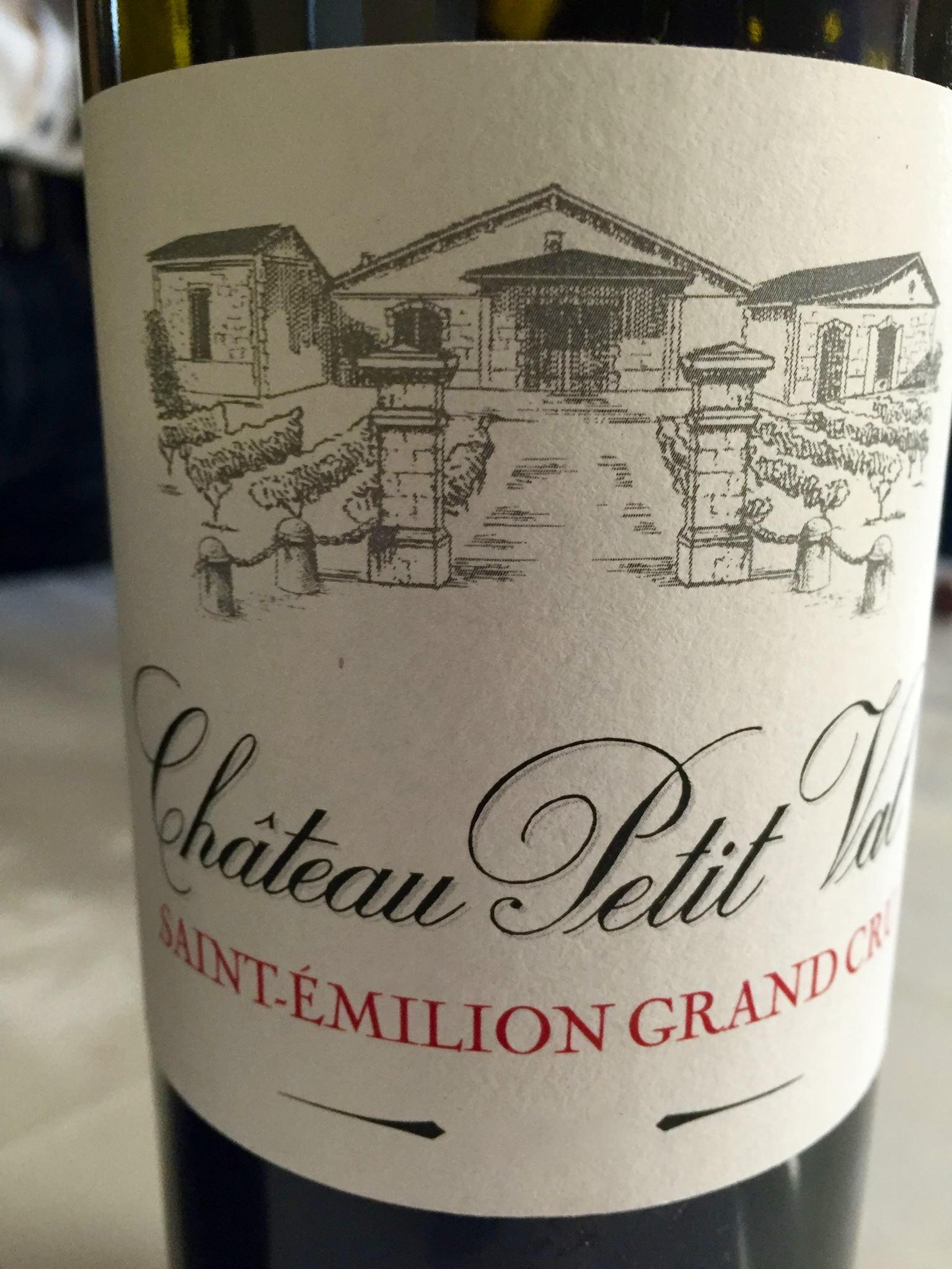Château Petit Val – Cuvée A 2015 – Saint-Emilion Grand