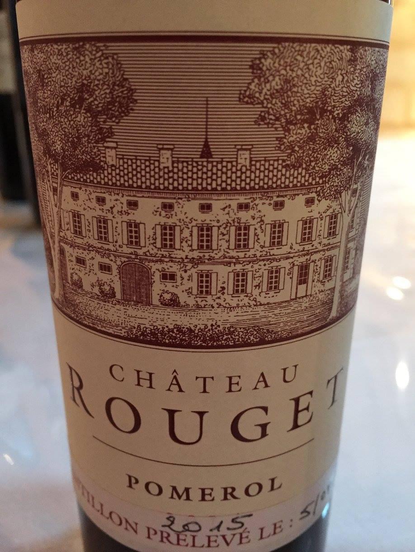 Château Rouget 2015 – Pomerol