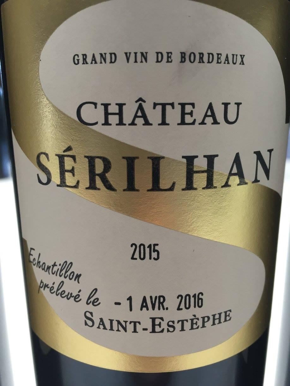 Château Sérilhan 2015 – Saint-Estèphe