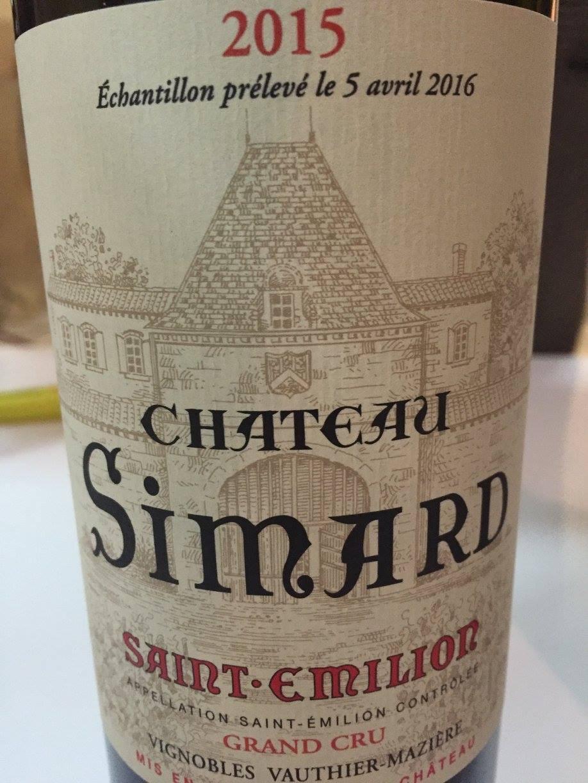 Château Simard 2015 – Saint-Emilion Grand Cru