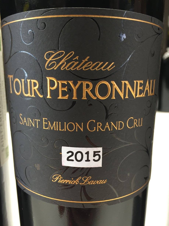 Château Tour Peyronneau – Pierrick Lavau 2015 – Saint-Emilion Grand Cru