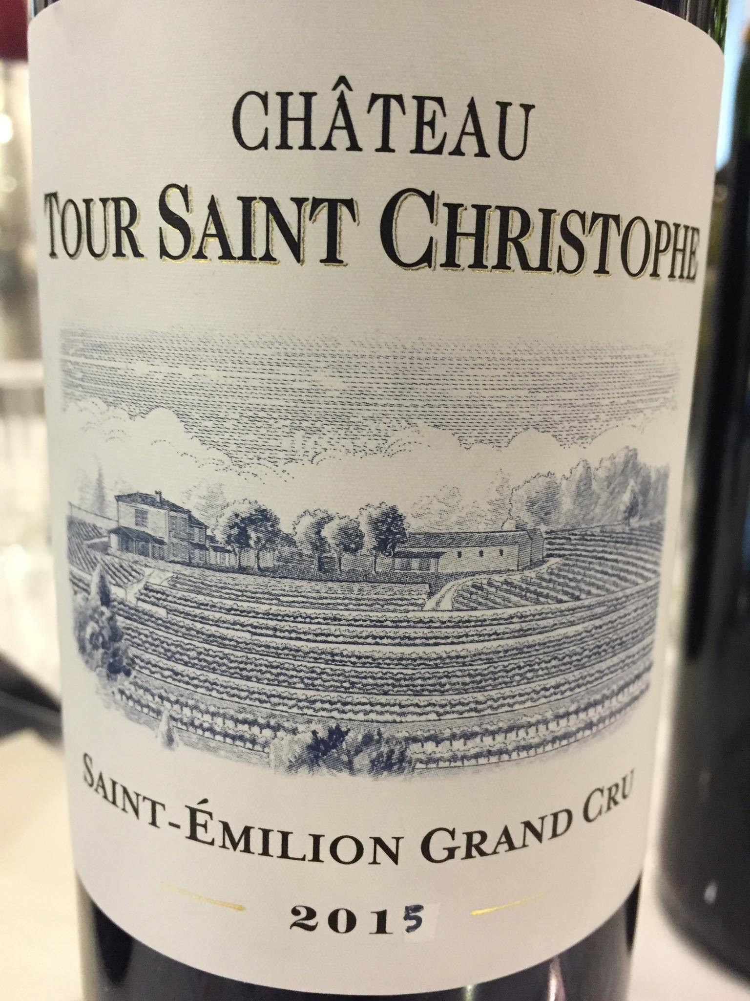 Château Tour Saint Christophe 2015 – Saint-Emilion Grand Cru