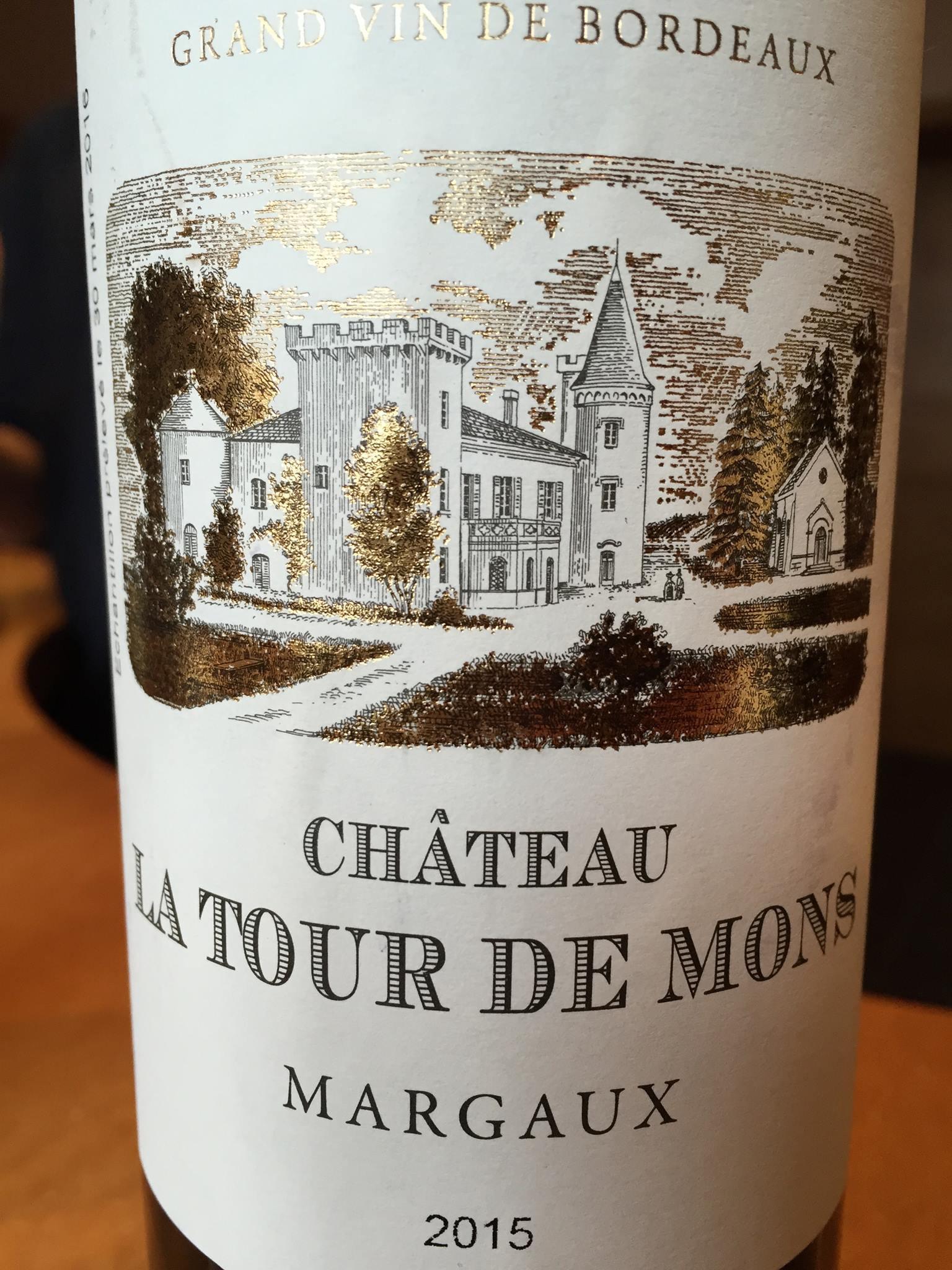 Château Tour de Mons 2015 – Margaux