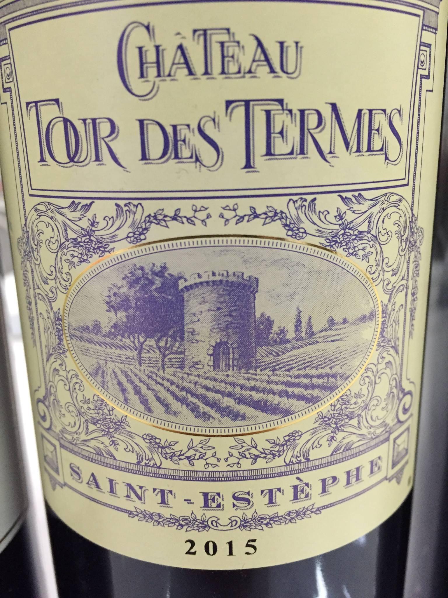Château Tour des Termes 2015 – Saint-Estèphe