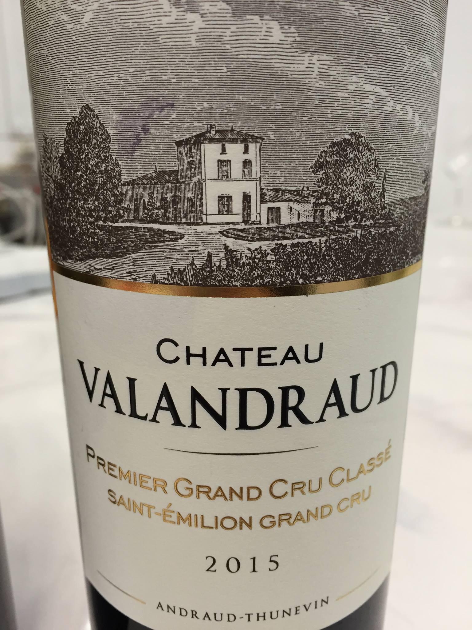 Château Valandraud 2015 – Saint-Emilion Grand Cru, 1er Grand Cru Classé B