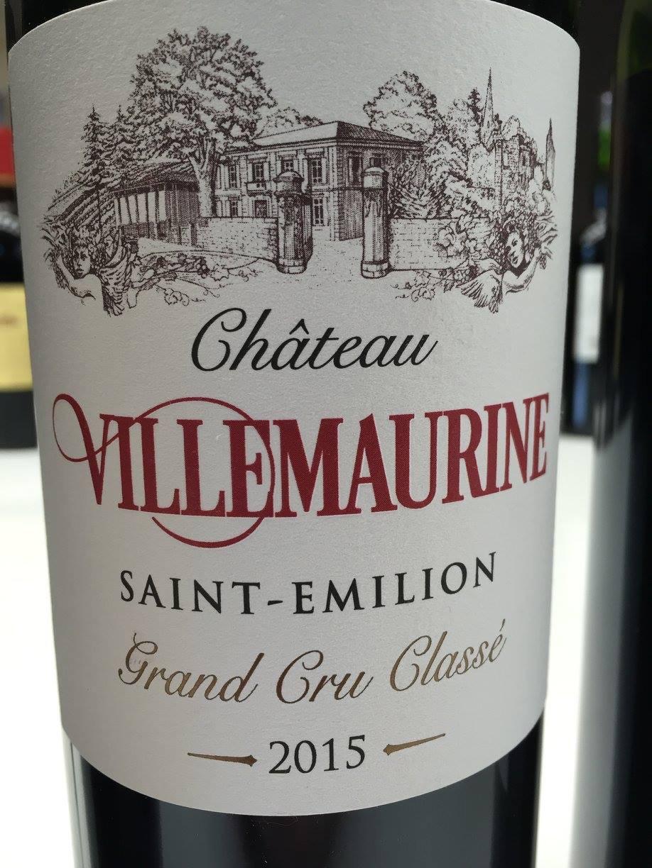 Château Villemaurine 2015 – Saint-Emilion Grand Cru Classé