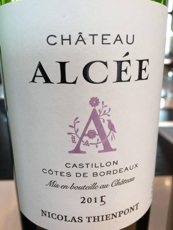 Château d'Alcée 2015 – Castillon Côtes-de-Bordeaux