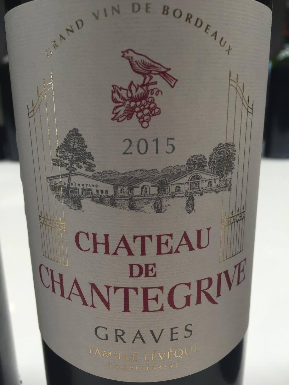 Château de Chantegrive 2015 – Graves