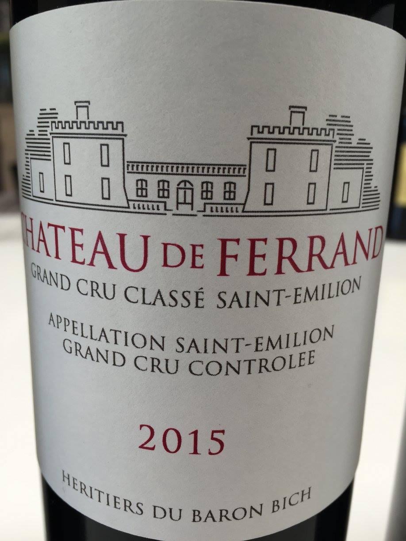 Château de Ferrand 2015 – Saint-Emilion Grand Cru