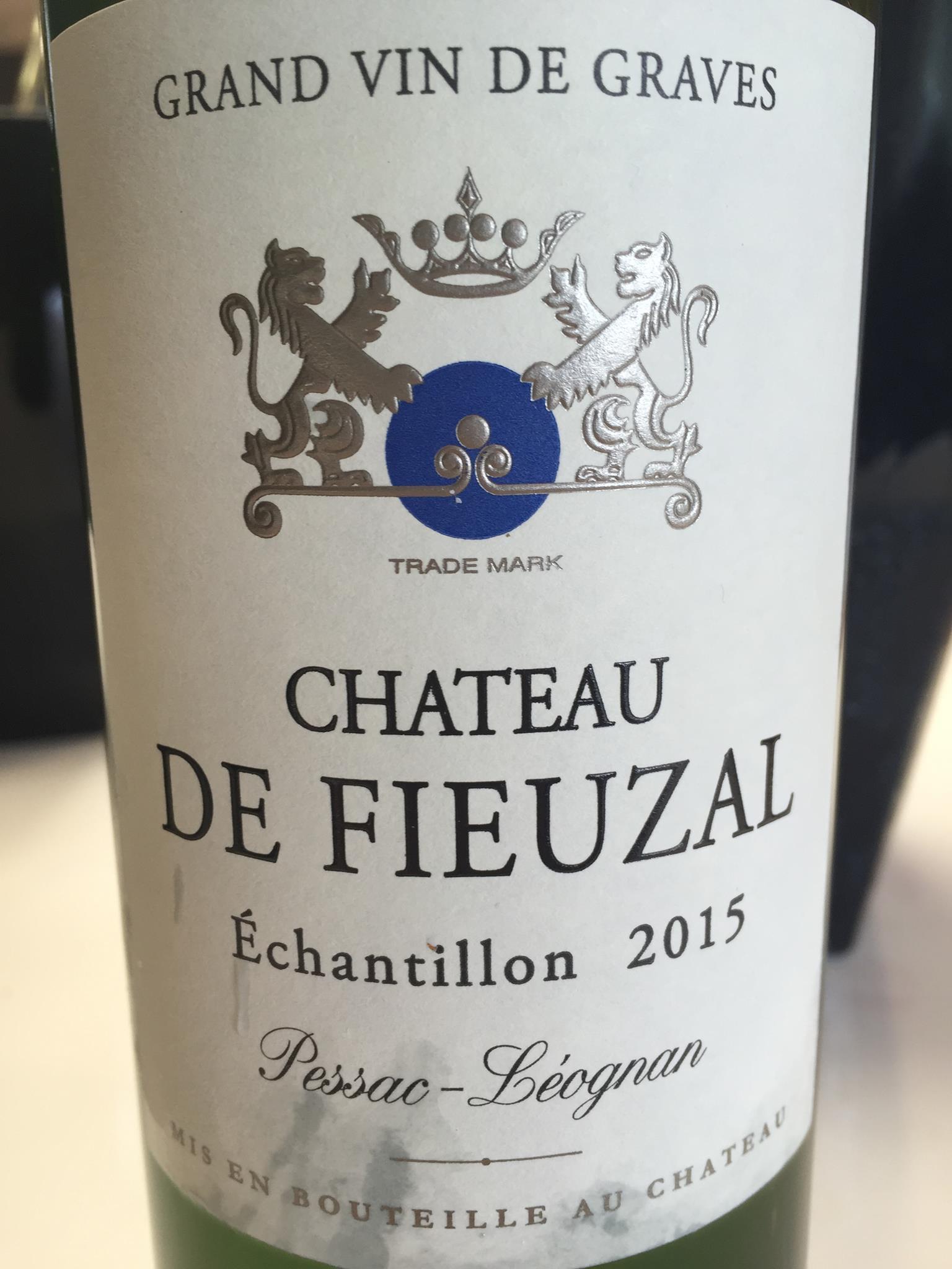 Château de Fieuzal 2015 – Pessac-Léognan