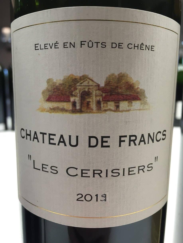 Château de Francs – Les Cerisiers – Francs Côtes-de-Bordeaux