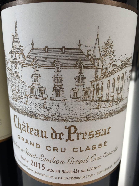Château de Pressac 2015 – Saint-Emilion Grand Cru Classé