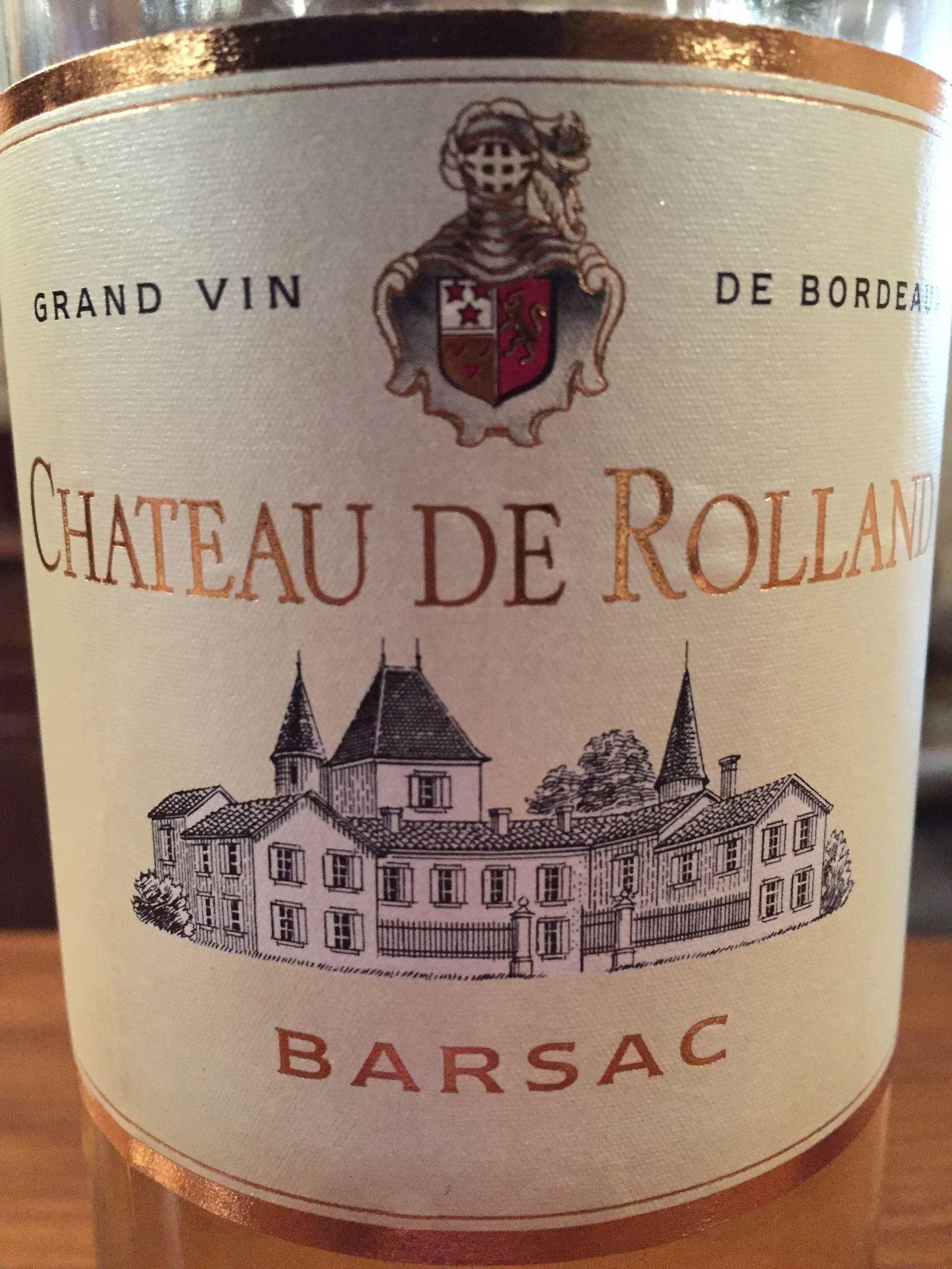 Château de Rolland 2015 – Barsac