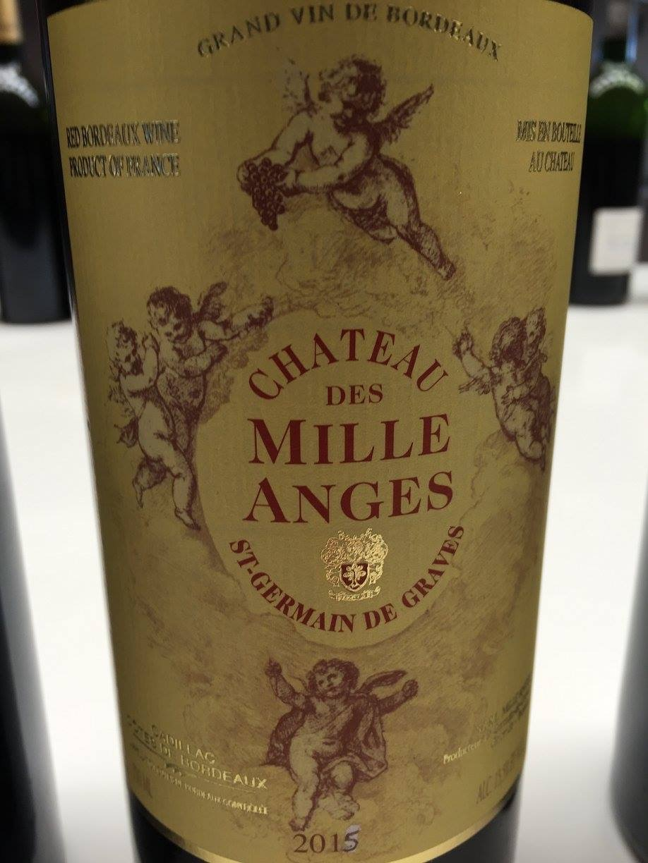 Château des Mille Anges 2015 – Cadillac Côtes-de-Bordeaux