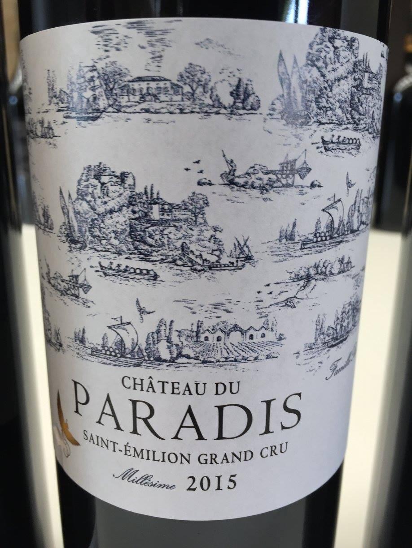 Château du Paradis 2015 – Saint-Emilion Grand Cru