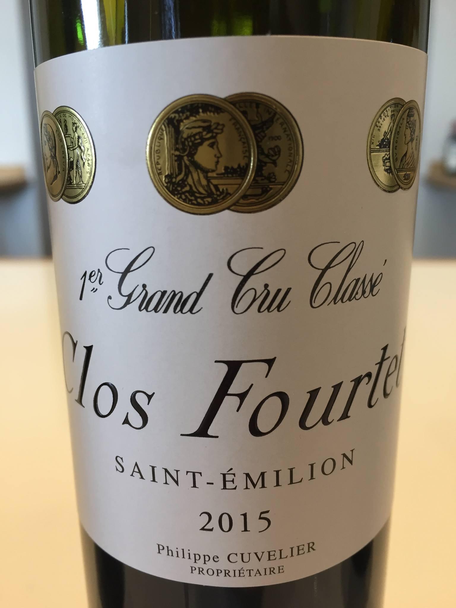 Clos Fourtet 2015 – Saint-Emilion 1er Grand Cru Classé B